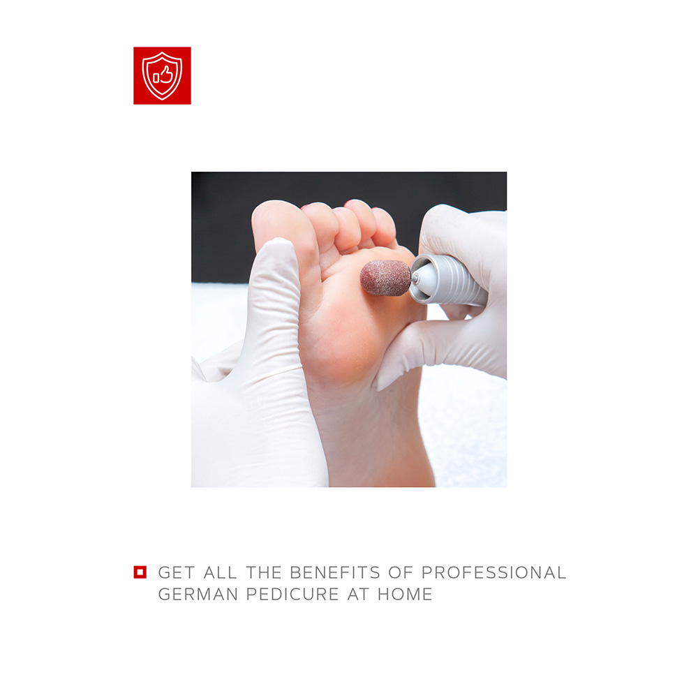 "Professional Pedicure Set ""Emergency Help"""