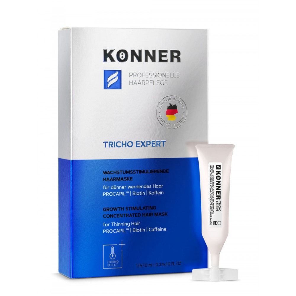 """Growth Stimulating Concentrated Hair Mask with Thermo Effect """"TRICHO EXPERT"""" for Thinning Hair, 250 ml"""