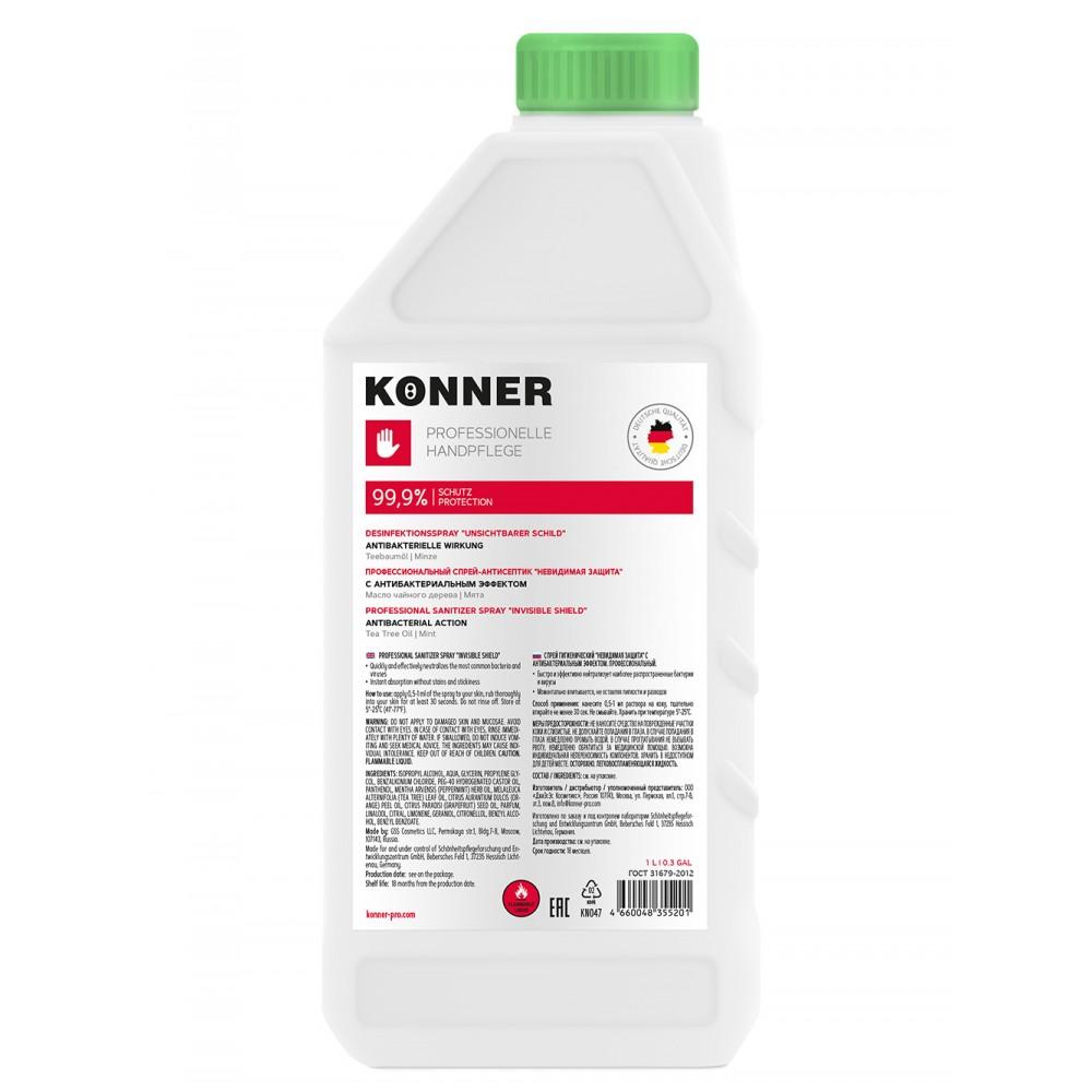 "Professional Sanitizer Spray ""Invisible Shield"", 1 L"